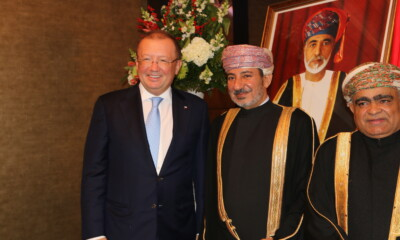 Ambassador of Oman Dr Abdulaziz Al-Hinai