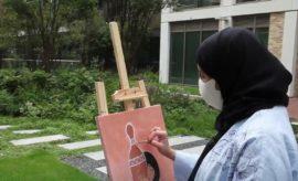 Scholarship student Reem Al-Kharji
