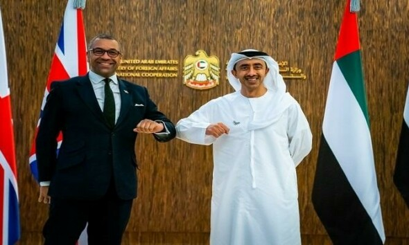 The UK and the UAE, talks of future plans and stronger relations
