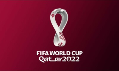 Football players are protesting against Qatar's 2022 World Cup