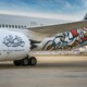 Year of Arabic Calligraphy, celebrating with Calligraphy-themed Airplanes